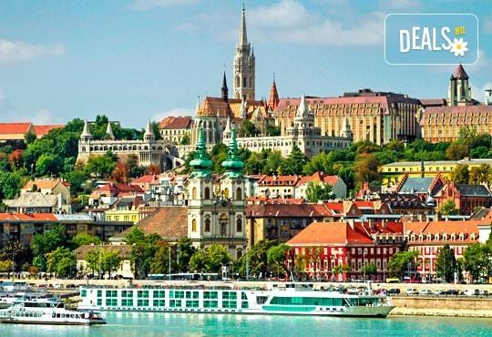 Свети Валентин в Будапеща: 2 нощувки и закуски, транспорт, възможност за Виена