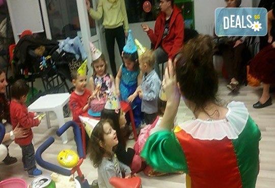 90 минути аниматор с игри и организиране на детска дискотека и караоке парти на избрано от клиента място от Детски център Приказен свят! - Снимка 4