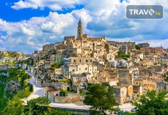 Романтична приказка в Южна Италия през 2020г.! 3 нощувки със закуски в хотел 3*, транспорт, водач, посещение на Алберобело, Матера и още! - Снимка 8
