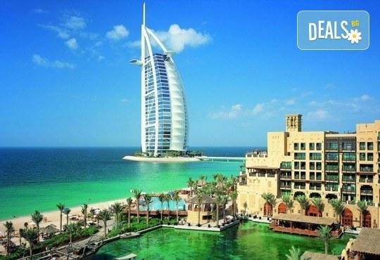 Дубай, 29.11 - 04.12.: Самолетен билет, летищни такси, 5 нощувки със закуски, багаж, гид