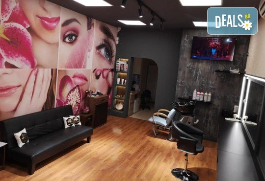 Нов цвят! Боядисване с боя на клиента + подстригване, терапия с маска и прическа от Студио за красота BEAUTY STAR до Mall of Sofia - Снимка 5