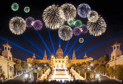 Нова година в Барселона с Trips2go! Самолетен билет, 3 нощувки със закуски в Expo Hotel Barcelona 4*, водач, по желание посещение на Ноу Камп, Монсерат и Фигерас - Снимка