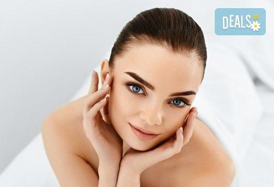 Сияние за Нея! Мануално почистване на лице, пилинг, маска с колаген, масаж + терапия с диамантено микродермабразио и крем с екстракт от охльови в Senses Massage & Recreation - Снимка 3