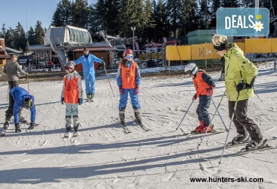 На ски в Боровец! Еднодневен наем на ски или сноуборд оборудване за възрастен или дете от Ски училище Hunters! - Снимка 4