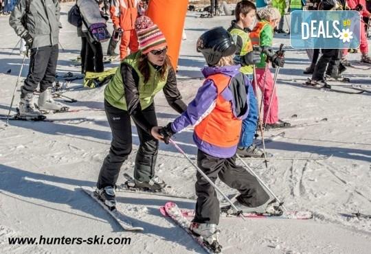 На ски в Боровец! Еднодневен наем на ски или сноуборд оборудване за възрастен или дете от Ски училище Hunters! - Снимка 7