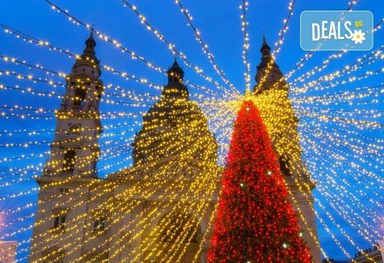 Преди Коледа в Будапеща: 2 нощувки със закуски, транспорт, панорамна обиколка