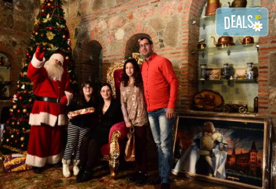 Разходка за цялото семейство в замъка в Равадиново и среща с Дядо Коледа