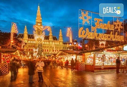 Коледна приказка във Виена! 2 нощувки със закуски, транспорт, водач и посещение на Outlet Parndorf - Снимка 1