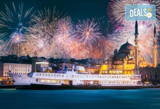 Нова година в Истанбул с Новогодишен круиз по Босфора! 3 нощувки със закуски в хотел Кichik 3*, Новогодишна гала вечеря на яхта, собствен транспорт - Снимка 2