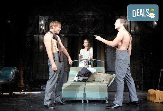 На 12-ти декември (четвъртък) гледайте Бел Ами с Калин Врачански, Герасим Георгиев-Геро и Луиза Григорова в Малък градски театър Зад канала - Снимка 8