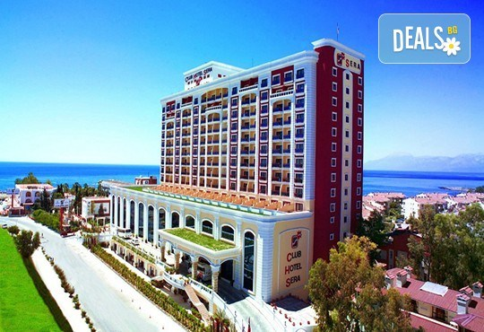 Нова година в Анталия, Турция: самолетен билет, 4 нощувки All Incl. в Club Hotel Sera 5*
