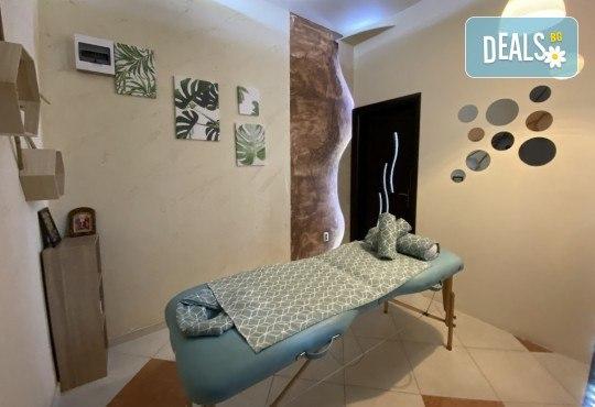 СПА пакет за Нея - ароматерапевтичен масаж на цяло тяло, масаж на лице + чаша вино в масажно студио Спавел! - Снимка 7