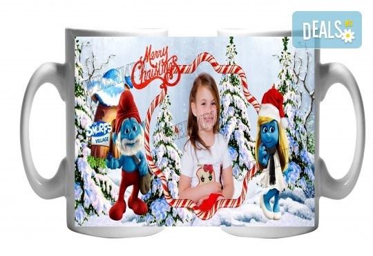За Коледа! Забавни чаши за малки и големи + снимка и надпис от Сувенири Царево! - Снимка 5