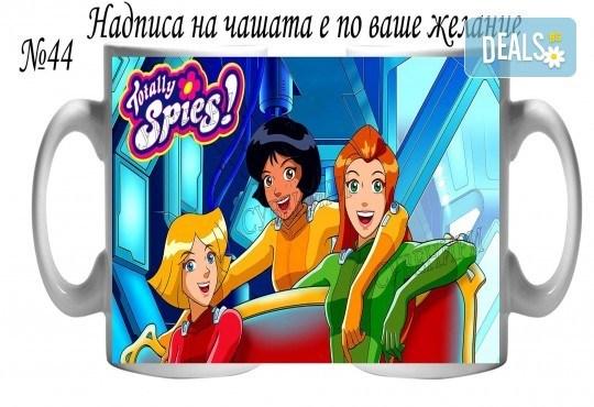 Подарък за Вашата принцеса! Чаша за момиче и магнит от Сувенири Царево! - Снимка 20