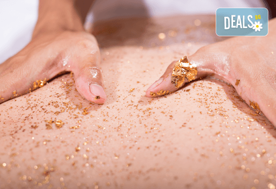 SPA масаж със злато и вулканични камъни в Senses Massage & Recreation