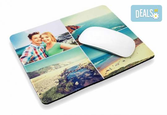 Подарък за приятел! Подложка за мишка с Ваша снимка и надпис от Офис 2 - Снимка 2