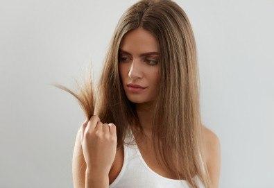 Нова прическа за празниците! Подстригване и оформяне на прическа със сешоар в салон за красота Diva! - Снимка