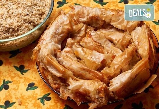 Един килограм традиционен вит тиквеник с орехи от Работилница за вкусотии РАВИ - Снимка 1