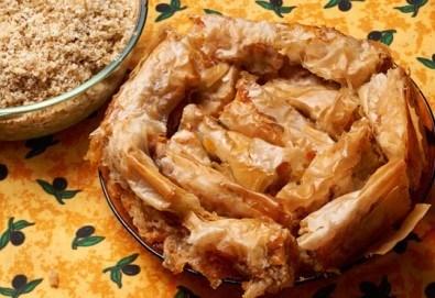 Един килограм традиционен вит тиквеник с орехи от Работилница за вкусотии РАВИ - Снимка