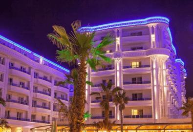 Посрещнете Нова година 2020 в хотел Fafa Premium Resort 4*, Албания, с АБВ Травелс! 3 нощувки, 3 закуски и 2 вечери, транспорт и програма в Дуръс, Скопие и Охрид! - Снимка