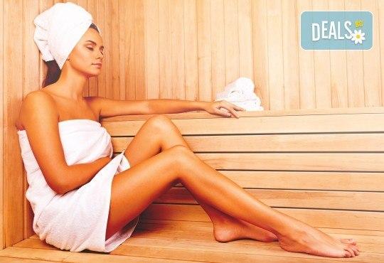 2-часово СПА изживяване: сауна и релаксиращ масаж на цяло тяло в център Beauty and Relax, Варна! - Снимка 1