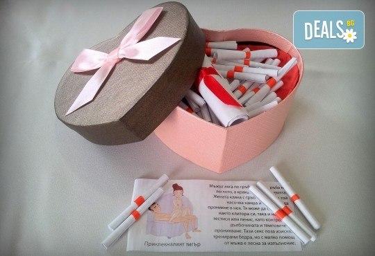 """Специален комплект игра """"Кама Сутра за влюбени"""" от Just Love Day"""