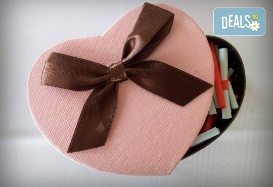 """Романтичен подарък за любимия човек! Вземете луксозен комплект игра за двойки """"52 седмици Любов"""" от Just Love Day! - Снимка 2"""