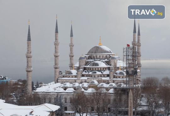 Зимна приказка в Истанбул с Караджъ Турс през януари и февруари! 2 нощувки със закуски в хотел 2*, транспорт и посещение на мол Forum - Снимка 1