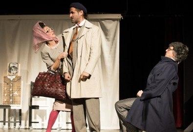 Гледайте Малин Кръстев и Филип Аврамов в комедията на Теди Москов Аз обичам, ти обичаш, тя обича на 17-ти декември (вторник) в Малък градски театър Зад канала! - Снимка