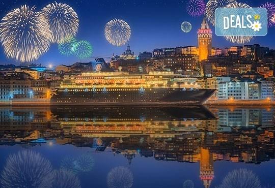 """Нова година в Истанбул, с ТА АПОЛО! 3 нощувки със закуски в Klas Hotel 4*, пешеходна обиколка в Истанбул, възможност за Новогодивна вечеря на яхта или в ресторант """"Klas""""! - Снимка 2"""