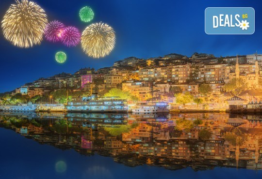 """Нова година в Истанбул, с ТА АПОЛО! 3 нощувки със закуски в Klas Hotel 4*, пешеходна обиколка в Истанбул, възможност за Новогодивна вечеря на яхта или в ресторант """"Klas""""! - Снимка 1"""