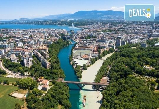 Самолетна екскурзия до Женева на дата по избор, с Голдън Холидейз БГ! Самолетен билет, 3 нощувки със закуски в хотел 3*, застраховка, индивидулно пътуване - Снимка 2