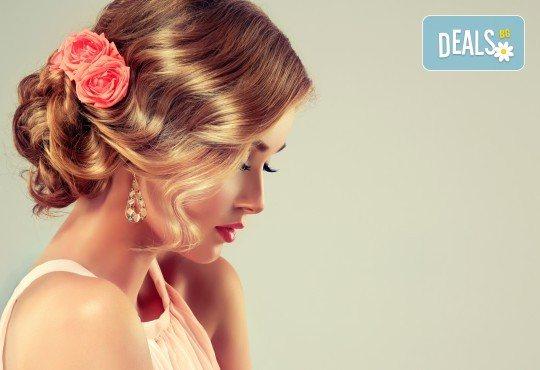 Официална прическа по избор в салон Angels of Beauty