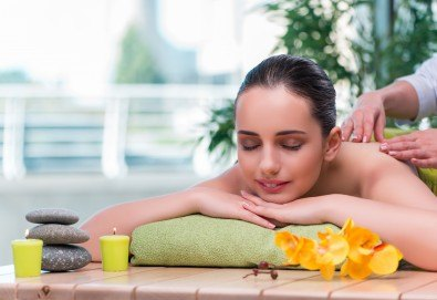 Микс от 6 вида масажни техники - шведски, фински, хавайски, шиацу, тайландски и китайски масаж + пилинг на цяло тяло и алгинатна маска за лице в Skin Nova - Снимка