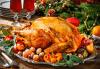 Коледно меню за 10 човека с цял печена пуйка, дърпано свинско месо, салати и чийзкейк от кулинарна работилница Деличи! - thumb 2