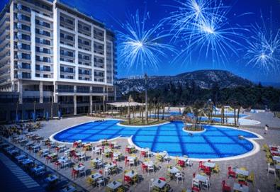 Последни места за Нова година в Amara Sealight Elite 5*, Кушадасъ! 4 нощувки на база Ultra All Inclusive, празнична вечеря и ползване на СПА - Снимка