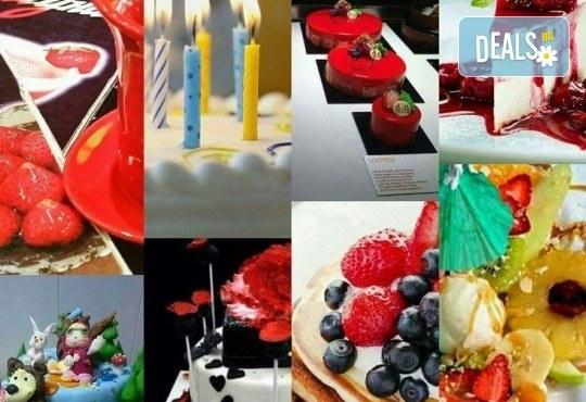 Апетитна йогуртова торта с малини - 1кг. ики 2кг. от сладкарница Лагуна! - Снимка 9