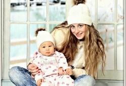 Зимна новогодишна фотосесия в студио - бебешка, детска, индивидуална или семейна + подарък: фотокнига, от Photosesia.com! - Снимка