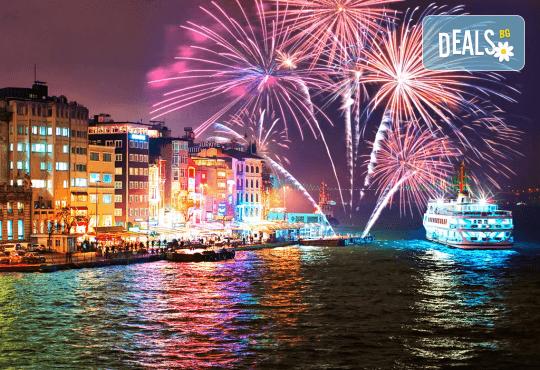 Last minute! Нова година в Истанбул с АБВ Травелс! 3 нощувки със закуски, Новогодишна вечеря по избор, транспорт, водач и пешеходна обиколка в Истанбул - Снимка 2