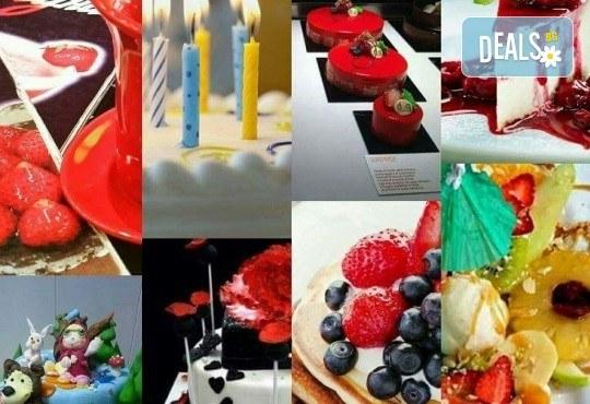 Празнична сладост! Коледна детска торта с картинка по избор и превъзходен вкус от Виенски салон Лагуна! - Снимка 21