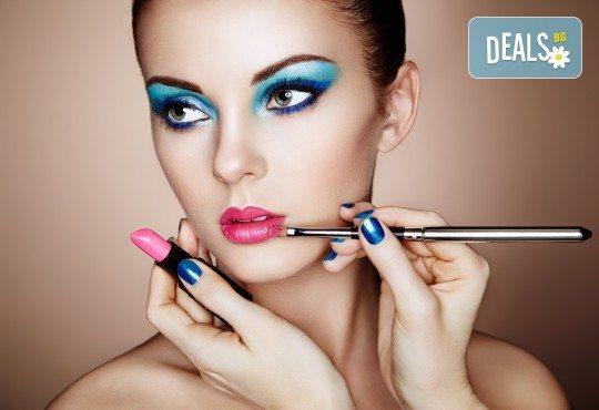 Професионален грим с висок клас козметика на Kryolan, Christian Dior или Huda Beauty във Beauty Home by Megan Lashes! - Снимка 3