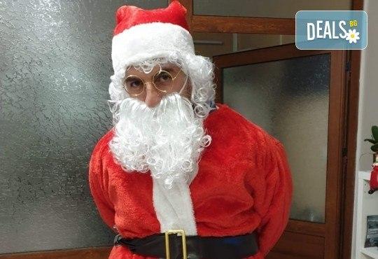 Посещение на Дядо Коледа и Снежанка на адрес на клиента в рамките на град София от Детски център Щастливи деца! - Снимка 7