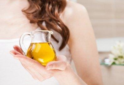 Арганова терапия за коса с италиански продукти на Jungle fever и стилизиране на прическа със сешоар в Beauty Salon Tesori