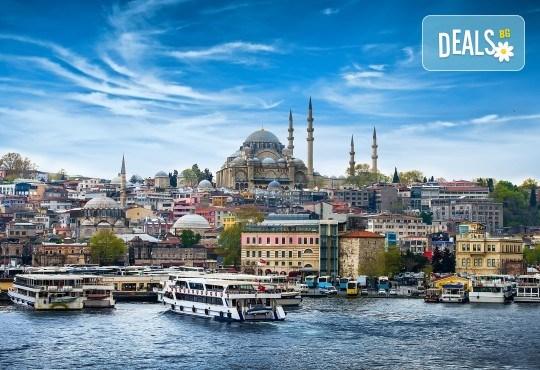 Свети Валентин в Истанбул: 2 нощувки и закуски, транспорт и посещение на Одрин