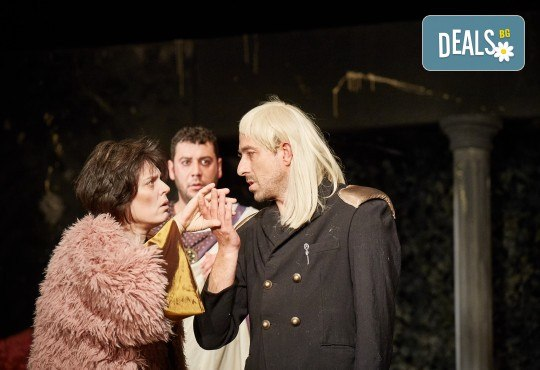 Герасим Георгиев - Геро е Ромул Велики на 22-ри януари (сряда) от 19ч. в Малък градски театър Зад канала! - Снимка 8