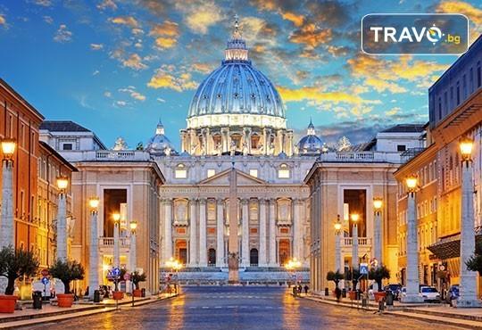 Самолетна екскурзия до Рим, Италия, с Абела Тур! 3 нощувки със закуски в хотел 3*/4*, самолетен билет, летищни такси, трансфери, индивидуално пътуване - Снимка 1
