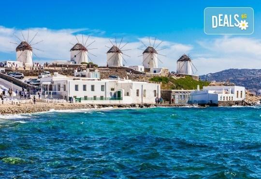 Почивка на остров Миконос - перлата на Цикладите! 4 нощувки със закуски, самолетен билет, салонен багаж и трансфер - Снимка 2