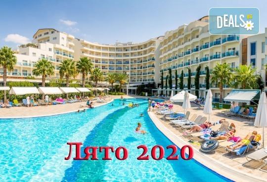 Ранни записвания за Лято 2020 в Кушадасъ, с BELPREGO Travel! Почивка в Sealight Beach Resort 5*: 7 нощувки Ultra All Inclusive, възможност за транспорт - Снимка 1