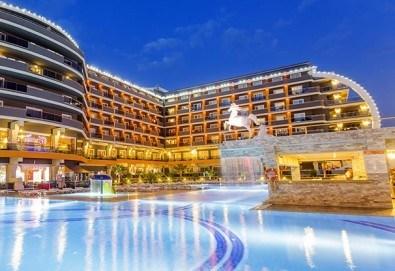 Ранни записвания за почивка в Анталия, Турция, през май! 7 нощувки на база Ultra all Inclusive в хотел хотел Senza The Inn Resort & Spa 5* Алания, възможност за транспорт - Снимка