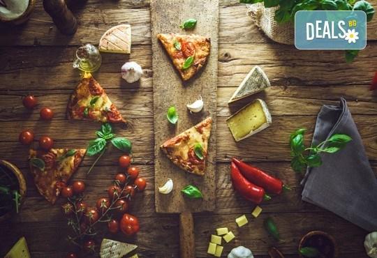 Опитайте най-вкусната пица в София! Заповядайте в ресторант La Felicità и вземете изкусителна италианска пица с кашкавал по Ваш избор! - Снимка 3
